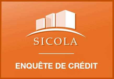 enquête de crédit sicola
